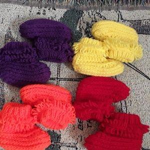 Handmade Toddler Slippers